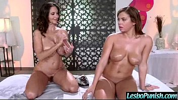 with playing lesbians bed massager in Amateur paige part 4