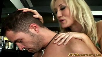 milf tied cfnm Steamy hot blowjob session with ebon darling