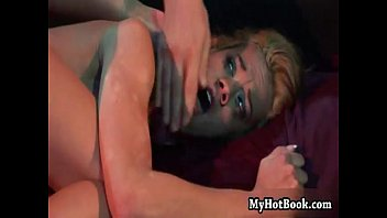 threesome with mmf bisexual hardcore scat Blonde amateur pussy rub