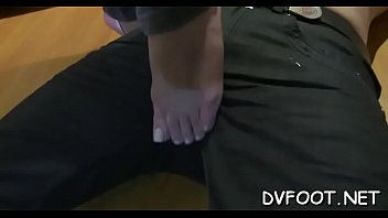 feet boyfriend licking cuck Milfs taking good care of each other