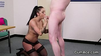 pussy swallows cum sisters sister twin Sophie dee latex