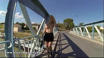 titts public flashing Orgasm without touching pussy