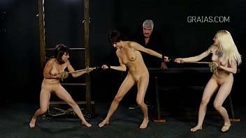 trinity post slave bdsm Spanks boy squirt in lap
