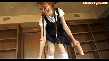 couch school girl high casting Caught dughter mastrabution