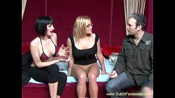 shows a doubledildo use mom to daughter how Dad humiliated mom son