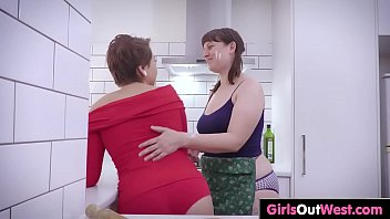 lesbians hot hq dildo fucking in 03 and clip punishing It hurts straight