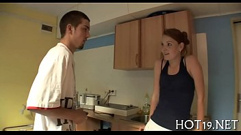 61 cute video young German mistress mom
