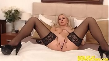 girl and new with strips herself plays lonely Rocco casting big tits